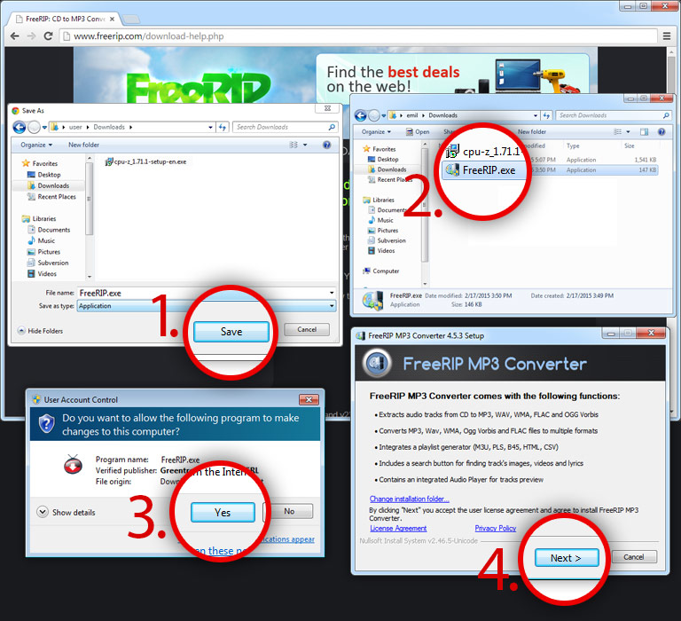 Download Instructions   FreeRIP