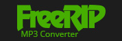 Get FreeRIP CD to MP3 Coverter