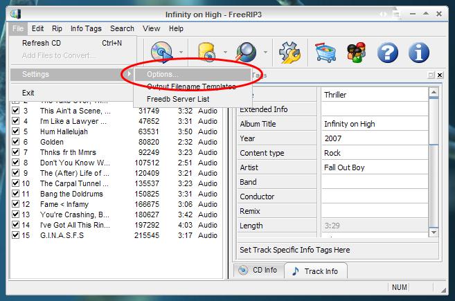 FreeRIP 3 Manual - Configuration Options